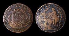 Etats de Bourgogne Nouveaux efforts financiers aux Etats 1665 - Cuivre - F9801