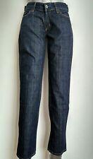 """Tommy Hilfiger Jeans De Pierna Recta Denim pecador Pantalón tamaño 24"""" Azul verdadero -- como Nuevo -"""