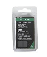 Hitachi 23003S 1-3/16-Inch x 23-Gauge Electro-Galvanized Headless Pins, 2000
