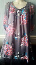 Monsoon Silk Dress Size 10
