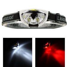 1500LM 6 LED Outdoor Fishing Cycling Headlamp Headlight Flashlight Head Light