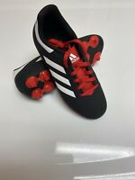 Kids Adidas Goletto VI FG Soccer Cleats G26367 - Black, Red Sz 2