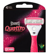 Wilkinson Sword Quattro for Women Replacement Blades 6s