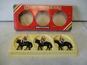 3 Britains Mounted Life Guards
