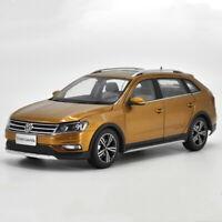 1/18 VW Volkswagen Cross Lavida 2016 Brown DieCast Car Model Toy Collection