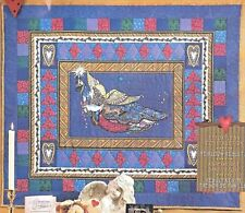 "1996 Daisy Kingdom Quick  Quilt  Folk Art #37305 GILDED ANGEL 36"" x 45"""