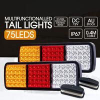 2x LED Tail Stop Indicator Combination Lamp Submersible Light 12V ADR LIGHTFOX