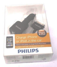 Original Philips Car Charger 30-Pin Plug Cable Cord for iPod iPad 1 2 3 4