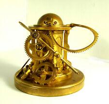 Rare Antique Gilt Brass Mechanical Engineers Presentation Inkwell circa 1870