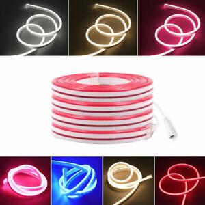 Neon Light DC12V 2835 120Leds/m Waterproof Home Bar Led with AU/EU/UK/US Plug