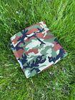 "Rich Flecktarn Camo Scarf Bandana Camouflage Headwrap Cloth 21"" SHIPS FROM USA"