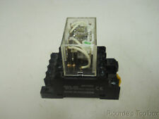 New Omron Relay With Base, LY4N-DC24