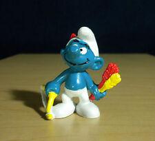 Smurfs Archer Bow & Arrow Smurf Figure Rare Vintage Figurine Peyo PVC Toy 20102