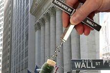 Avvitata da Wall Street CAVATAPPI-presenti in metallo vino Cork Screw Opener Bevanda