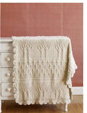 tree afghan throw knitting pattern 99p