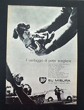 F383 - Advertising Pubblicità - 1963 - BP CARBURANTE SU MISURA