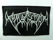 ARMAGEDDA  EMBROIDERED  PATCH