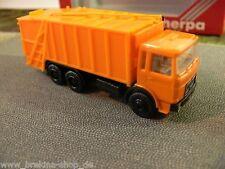 1/87 Herpa 820019 MAN Müllwagen orange