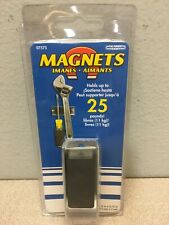 Master Magnetics 07575 275 In Ceramic Latch Magnet 25 Lb Pull 34 Mgoe Silver