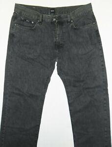 "HUGO BOSS Texas 10118439 01 201 Straight Grey Mens Jeans Size 36 (Waist 19"")"