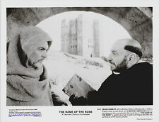 THE NAME OF THE ROSE SEAN CONNERY  F. MURRAY ABRAHAM THREE  ORIGINAL 1986 8X10S
