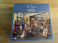 Gibsons The Flicks by Tony Ryan 1000 piece jigsaw puzzle. NEW/SEALED.