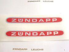 Zündapp Aufkleber Gelände Weltmeister Orange 1975 /& 76 GTS KS C 50 CS 25 ZD ZX Z