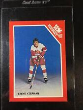 Steve Yzerman PRE Rookie Junior Team Team Canada 1983 Team Issue RARE