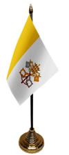 Vatican City (Papal) Desktop Country Flag - Souvenir New