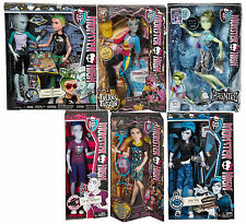 MONSTER HIGH BOY LOT GIL DEUCE PORTER SLO MO NEIGHTHAN INVISIBILLY JACKSON