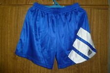 Rare Adidas Equipment Vintage Football Shorts 90s Schalke 04 Blue Men Size M /34