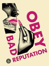 🟢 SHEPARD FAIREY -  BAD REPUTATION (CREAM) - 2019 - #/350
