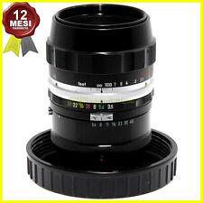 Nikon Micro Nikkor Auto 55mm f3,5 obiettivo Close-Up con anello M Macro 1:1