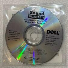 Sound Blaster Live Valve Digital 1024 Software Install CDs for Dell