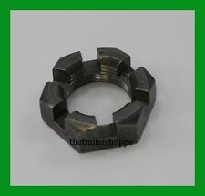4 Trailer Wheel Spindle Castle Nut 3k to 7K Dexter Axle