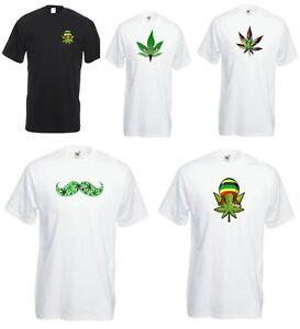 Juste le fumer Weed T-shirt Marijuana Fumée De Cannabis Spliff Spliff Cannabis Top