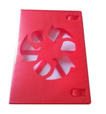 NEW! Red 60 Pk Viva Elite Premium 14 mm DVD Case Single Eco Box 1 Disc Hold