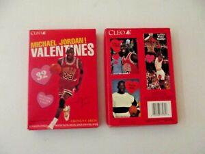 1991 Cleo Michael Jordan 32 Valentines in Unopened Box