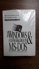 Microsoft MS Windows para Trabajo en grupo (3.11) y dos (6.22) soldada OVP