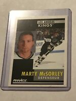 1991-92 (KINGS) Pinnacle French #35 Marty McSorley