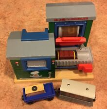 Authentic Wooden Thomas Train, Mr Jolly's Chocolate Factory! VGUC! Toby!