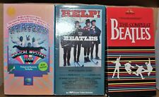 LOT OF 3 BEATLES VHS TAPES