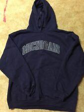 Michigan Fleece Sweatshirt With Hoodie