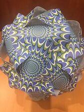 "Infinity Lights Puzzle ~BLUE ART DECO PATTERN~ MEDIUM 13"" size ~30 Piece kit~"