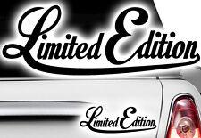 1x Edizione Limitata Adesivi Tuning Old School Special Adesivi Per Auto Moto
