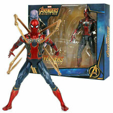 """Iron Spider-Man Marvel 7"""" Action Figure Toy Collection Avengers Infinity War"""