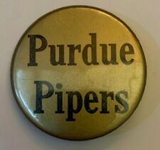 """Vintage Purdue Pipers Pin 2 1/2"""" Pin NCAA"""