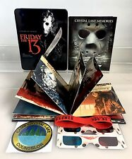 Friday the 13th: The Complete Collection (Blu-ray Disc, 2013; 10-Disc Set)