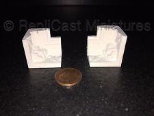 MN132 Ornate Internal Coving Corner Pk2 Plaster RepliCast Miniatures Dolls House
