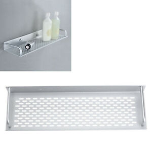 40CM Single Tier Wall Mounted  Bathroom Kitchen Condiment Shelf Organizer Holder